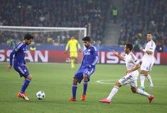 UEFA Champions League game FC Dynamo Kyiv vs Chelsea Royalty Free Stock Photo