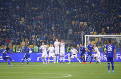UEFA Champions League game FC Dynamo Kyiv vs Chelsea Stock Photo