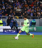 UEFA Champions League game FC Dynamo Kyiv vs Manchester City Royalty Free Stock Images