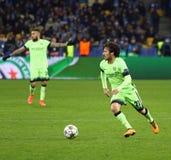 UEFA Champions League game FC Dynamo Kyiv vs Manchester City Stock Image