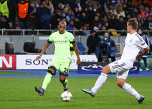 UEFA Champions League game FC Dynamo Kyiv vs Manchester City Stock Image
