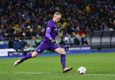 UEFA Champions League game FC Dynamo Kyiv vs Manchester City in Stock Images