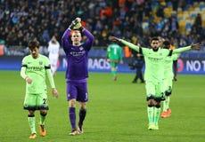 UEFA Champions League game FC Dynamo Kyiv vs Manchester City Stock Photo