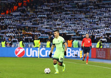 UEFA Champions League game FC Dynamo Kyiv vs Manchester City Royalty Free Stock Image