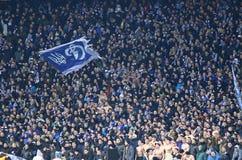 UEFA Champions League game FC Dynamo Kyiv vs Manchester City Royalty Free Stock Image