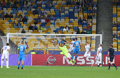 UEFA Champions League game FC Dynamo Kyiv vs Napoli Stock Photos