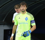UEFA Champions League game FC Dynamo Kyiv vs Napoli Stock Photography
