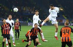 UEFA Champions League: Shakhtar Donetsk v Roma Royalty Free Stock Images