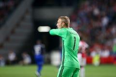 UEFA Champions League third qualifying round between Ajax vs PAO Stock Photo