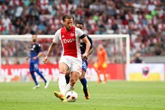 UEFA Champions League third qualifying round between Ajax vs PAO Royalty Free Stock Photos