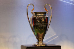 The UEFA Cup trophy Royalty Free Stock Images