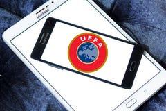 UEFA-embleem Stock Afbeelding