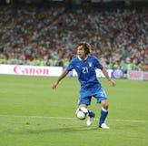 UEFA euro 2012 Ćwierćfinałowych gemowych Anglia v Włochy Zdjęcia Stock