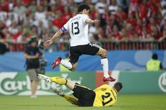UEFA Euro 2008 - Austria v. Germany June 16, 2008 Stock Photo