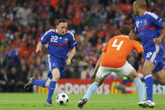 UEFA Euro 2008 - France v. Netherlands Stock Image