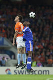 UEFA Euro 2008 - France v. Netherlands Stock Photography