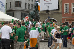 UEFA-Euro 2012 Stockfotografie