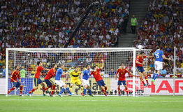 UEFA EURO 2012 Final Game Spain Vs Italy Stock Photography