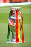 UEFA EURO 2012 Football Trophy (Cup) Stock Photos