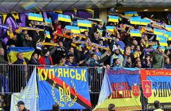 UEFA-EURO Endspiel 2016 für Schluss: Slowenien V Ukraine Stockbild