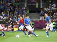 UEFA EURO 2012 Final game Spain vs Italy Royalty Free Stock Image