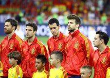 UEFA EURO 2012 Final game Spain vs Italy Stock Photography