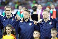 UEFA EURO 2012 Final game Spain vs Italy Royalty Free Stock Photo