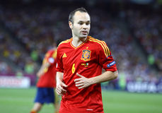 UEFA EURO 2012 Final game Spain vs Italy stock photo