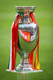 UEFA EURO Football Championship Trophy (Cup) Stock Photos