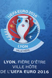 UEFA Euro Football 2016 in Lyon, France Royalty Free Stock Photos