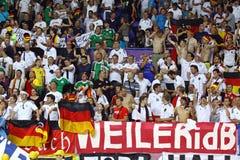 UEFA EURO 2012 game Netherlands vs Germany Stock Photo