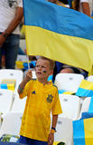 UEFA euro 2016 gemowych Ukraina v Polska Obraz Royalty Free