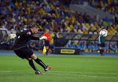 UEFA EURO 2016 Qualifying game Ukraine vs Slovakia Royalty Free Stock Images