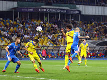 UEFA EURO 2016 Qualifying game Ukraine vs Slovakia Royalty Free Stock Photography