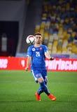 UEFA EURO 2016 Qualifying game Ukraine vs Slovakia Stock Images