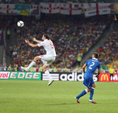 UEFA EURO 2012 Quarter-final game England v Italy Stock Photography