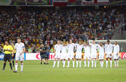 UEFA EURO 2012 Quarter-final game England v Italy Royalty Free Stock Photography