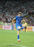 UEFA EURO 2012 Quarter-final game England v Italy Royalty Free Stock Image