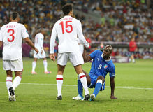 UEFA EURO 2012 Quarter-final game England v Italy Royalty Free Stock Photo