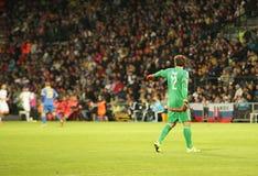UEFA EURO 2016   Slovakia - Ukraine match on September 8, 2015 Stock Images