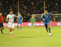 UEFA EURO 2016   Slovakia - Ukraine match on September 8, 2015 Royalty Free Stock Photography
