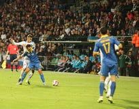 UEFA-EURO Slowakei 2016 - Ukraine passen am 8. September 2015 zusammen Stockfotos