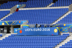 UEFA EURO 2016: Stade de Lyon, France Stock Photography