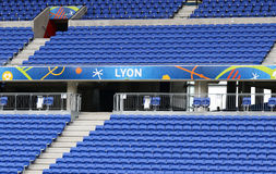 UEFA EURO 2016: Stade de Lyon, France Royalty Free Stock Image