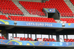 UEFA EURO 2016: Stade de Lyon, France Royalty Free Stock Photos