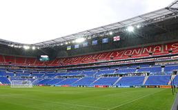 UEFA EURO 2016: Stade de Lyon, France Stock Photo