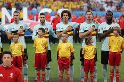 UEFA EURO 2016: Sweden v Belgium Stock Images
