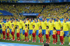 UEFA EURO 2016: Sweden v Belgium Royalty Free Stock Photo