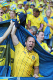 UEFA EURO 2016: Sweden v Belgium Stock Photo