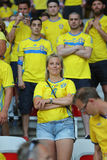 UEFA EURO 2016: Sweden v Belgium Stock Photo